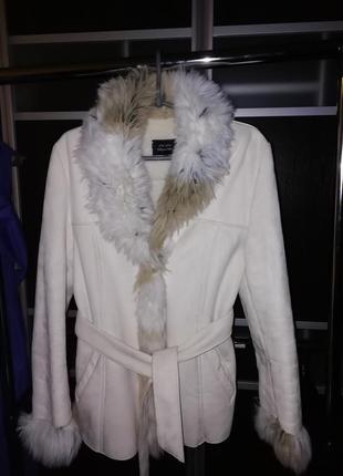 Куртка-дубленка marks&spencer