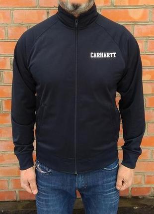 Carhartt college track jacket ветровка кофта олимпийка оригинал (m) сост.идеал