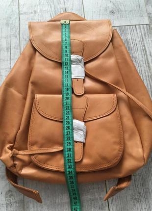 Рюкзак кожаный asos