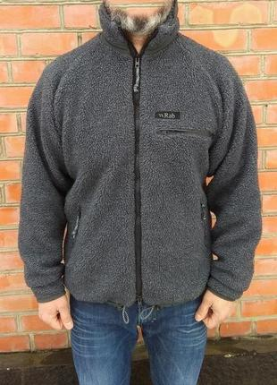 Rab double pile fleece jacket флисовая куртка оригинал (m-l) сост.идеал