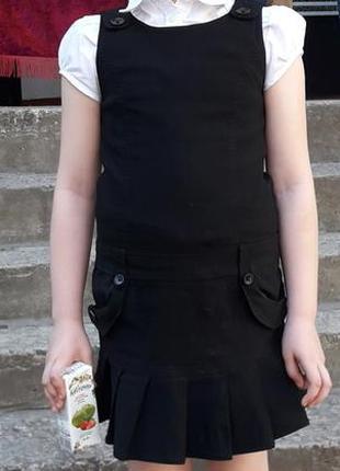 Школьный сарафан 7-10 лет