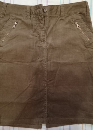 Вельветовая юбка от tcm tchibo, теплая и модная 44 евро1