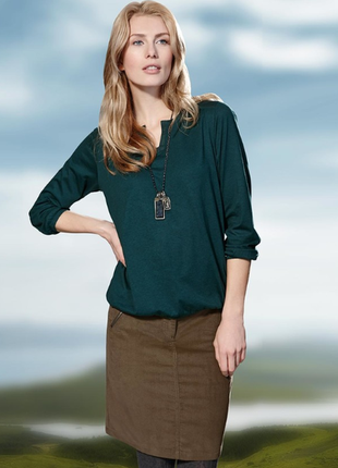 Вельветовая юбка от tcm tchibo, теплая и модная 44 евро2