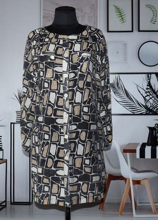 Блуза-туника легкая полупрозрачная