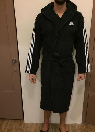 Новый мягкий халат adidas