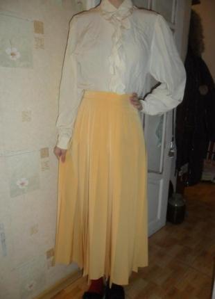 Красивая миди юбка