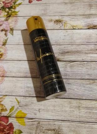 Лак для волос l'oréal professional тревел формат