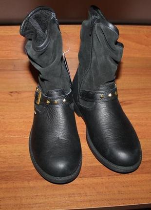 Водонепроникні шкіряні чоботи ecco gore-tex