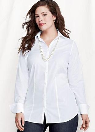 Формальная белая рубашка primark 50-52 non iron