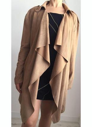 Пальто, накидка, кардиган женский на запах.