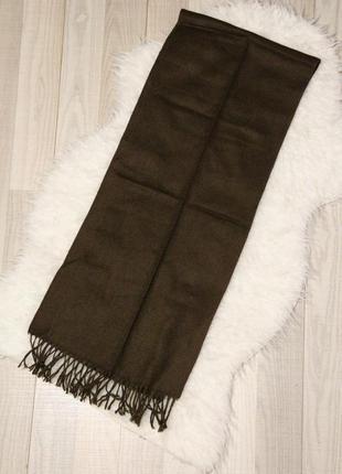 Классический длинный шарф