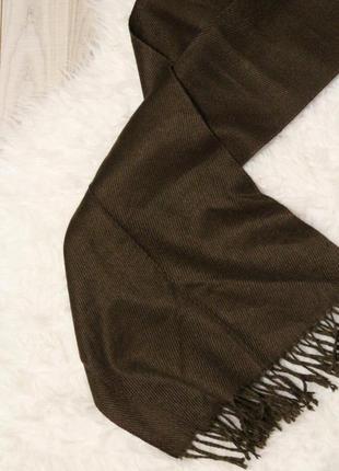 Классический длинный шарф3 фото