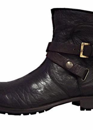 Мужские зимние ботинки полусапоги lorenzi dr.martens италия оригинал