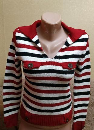 Теплый свитер, джемпер, свитшот в отличном состоянии, xs-s