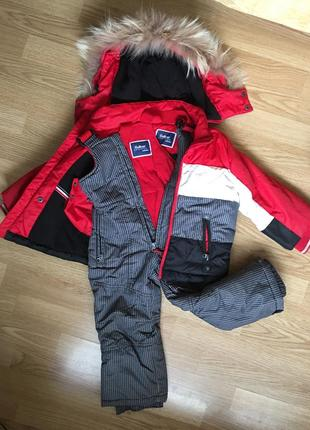 Зимний комбинезон , куртка, штаны gulliver на мальчика, девочку 2-3 года