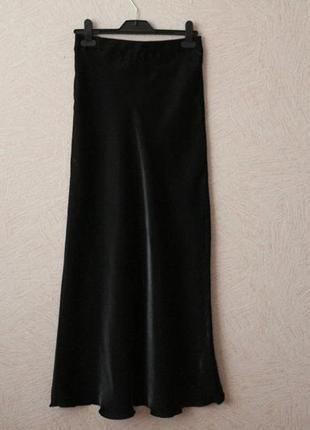 Мерцающая, воздушная юбка в пол