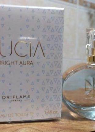 Женская туалетная вода lucia bright aura от oriflame 33960
