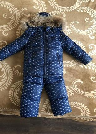 Зимний костюм для мальчика брендовый