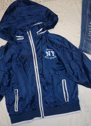 Куртка urban alley global all-stars (р.122-128 на 7-8 років) курточка як нова ветровка