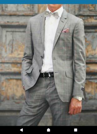Стильный костюм дизайнера paul smith