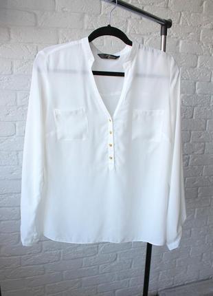 Класична біла блуза jane normal