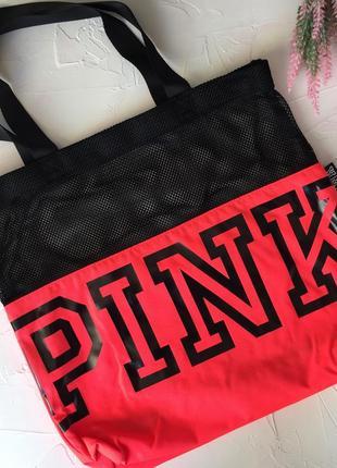 Сумка victoria's secret pink оригинал, сумочка сумка в спорт зал дорожная