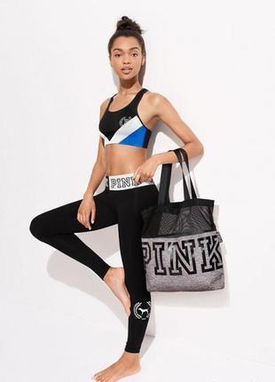 Серая сумка victoria's secret pink оригинал спортивная сумка дорожная