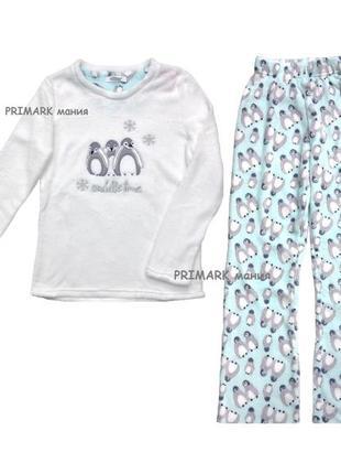 Женская флисовая пижама все размеры primark