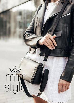 Сумка на длинной ручке cross-body сумочка трендовая и стильная кроссбоди david jones4 фото