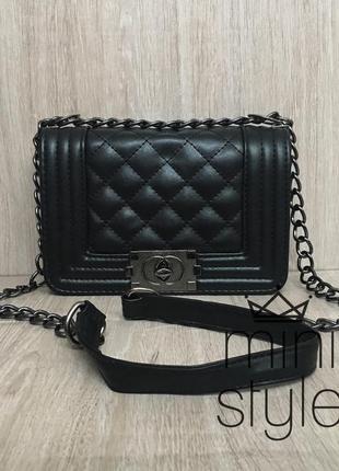 Сумка клатч сумочка трендовая с длинной и короткой ручкой3 фото