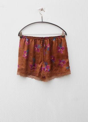 Женский комплект майка с шортами для дома и сна с кружевом women'secret