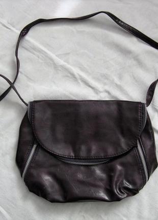 Фиолетовая маленькая сумочка