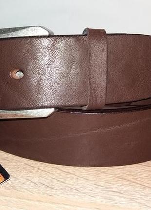 Кожаный ремень под джинсы tony perotti 1004 (италия)