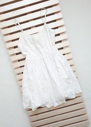 Актуальное белоснежное платье jack wills