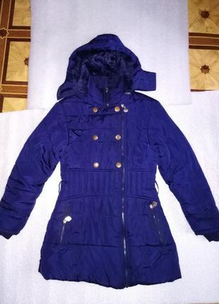 Куртка пуховик зимняя зима длинная