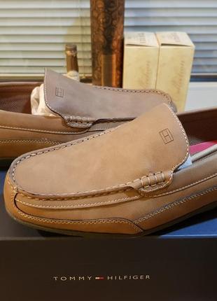 Tommy hilfiger оригинал новые кожаные туфли