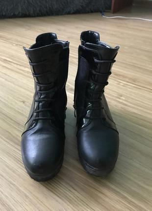 Зимние женские ботинки!