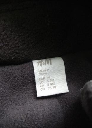 74p h&m зимний термо комбинезон4 фото