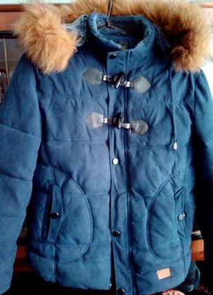 Куртка-парка зимняя теплющая 48 р.