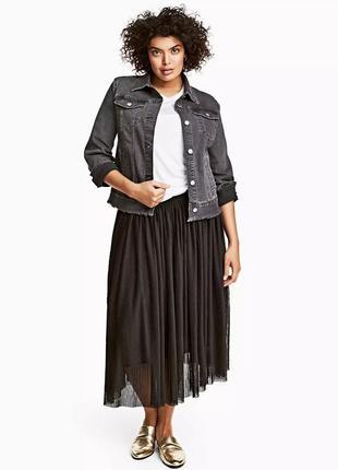 Бредовая юбка из фатина большого размера