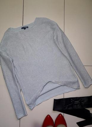 Серебристый свитер турция