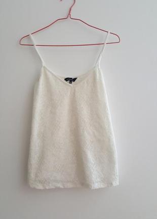 Женская майке кружевная футболка с кружевом топ кофта поло