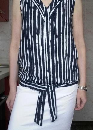 Блуза  из вискозы next размер 12