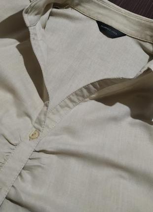 Стильная льняная рубашка