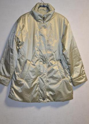 Стильная, фирменная куртка - пальто , размер л