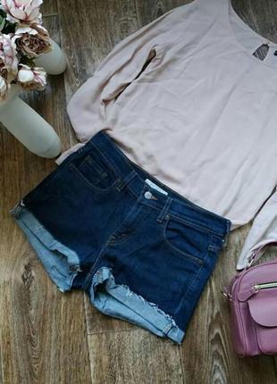 Джинсовые шорты levi's оригинал