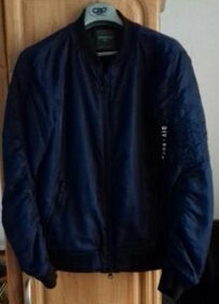 Куртка/бомбер/primark/синий/46-48 p.