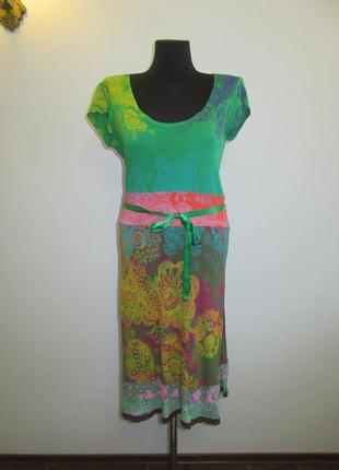 Коттоновое платье  desigual