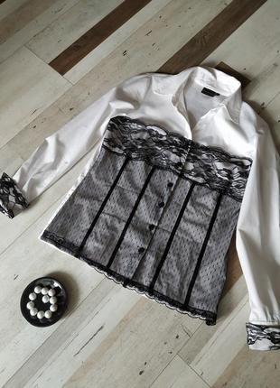 Интересная кружевная блуза. фирма rainbow  размер l-xl (48-50)