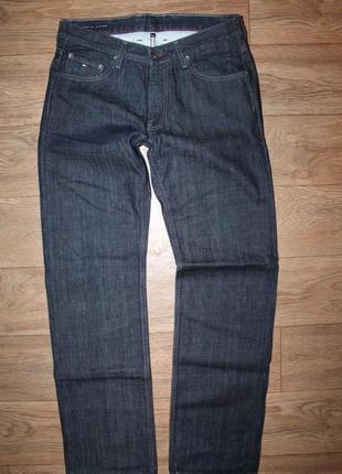 Шикарные оригинальные джинсы tommy hilfiger madison straight fit размер w32/l34